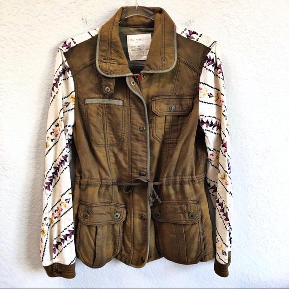 Free People Jackets & Blazers - Free People Follow Your Heart Utility Jacket M